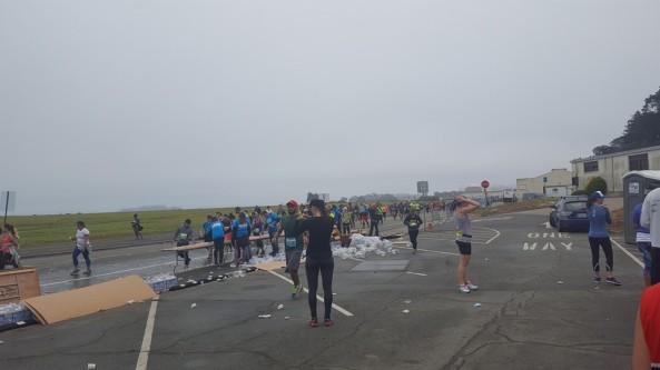 Marathon stop